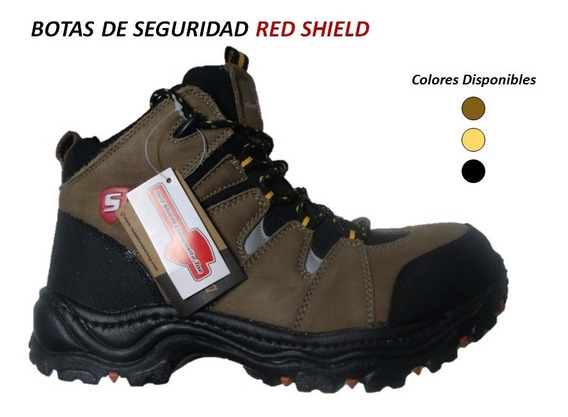 Botas De Seguridad Red Shield Con Puntera Tallas 42-45
