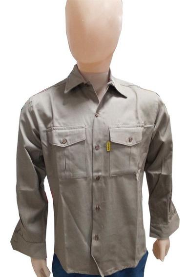 Camisas De Trabajo Hombre Grafa Marca Pampero Mod Azt4