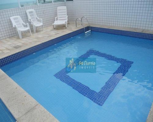 Apartamento Com 3 Dormitórios À Venda, 100 M² Por R$ 600.000,00 - Canto Do Forte - Praia Grande/sp - Ap0388