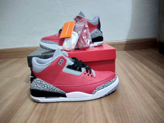Air Jordan 3 Retrô Se, Nike, Red Cement
