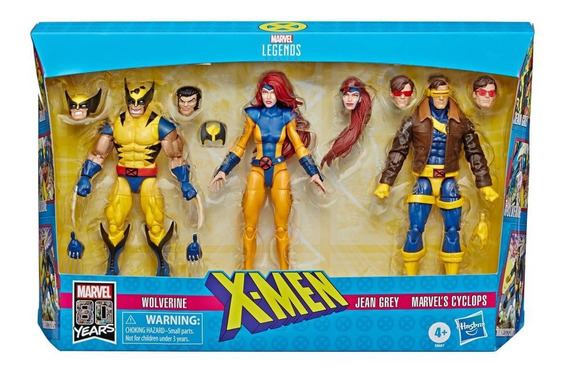 Marvel Legends Jean Grey Wolverine Psyclops X-force