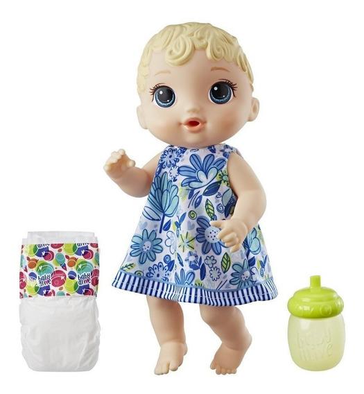 Boneca Baby Alive Hora Do Xixi Loira Laçamento 2018 Hasbro
