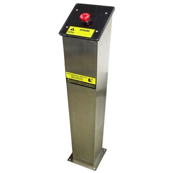 Torre Em Aço Inox Com Botão De Emergência - Sodramar
