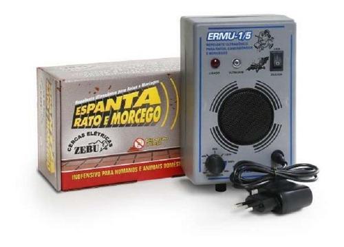 Aparelho Eletronico Espanta Rato E Morcego Zebu Ermu Bivolt