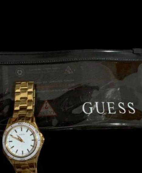 Relógio Guess Dourado Usado