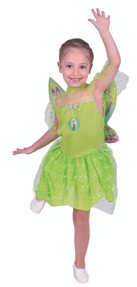 Disfraz Tinkerbell Campanita Original Disney New Toys