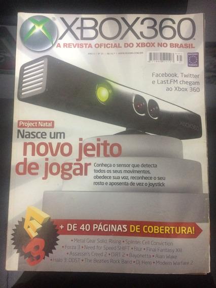 Revista Xbox 360 N° 31 Novo Jeito De Jogar + Dicas Raridade