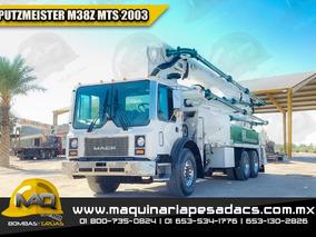 Bomba De Concreto Mack - Putzmeister M38z Mts 2003