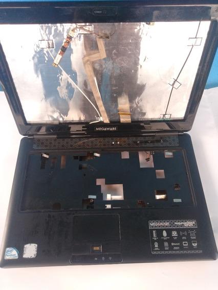 Carcaça Completa Notebook Megaware Original Super Conservado