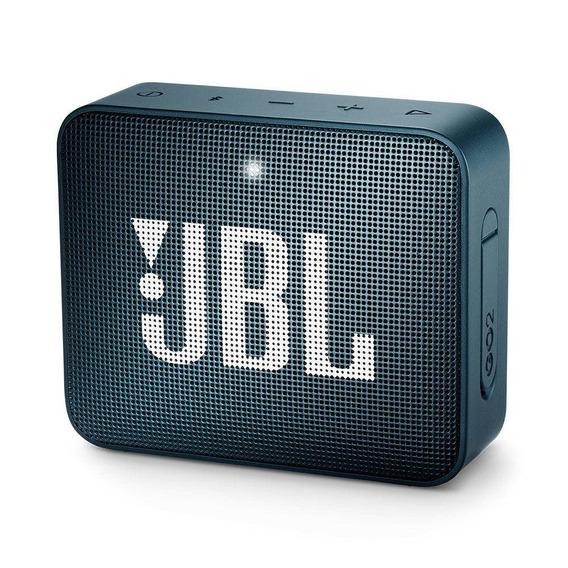 Jbl Go 2 Caixa De Som Bluetooth À Prova De Água Ipx7 Preta