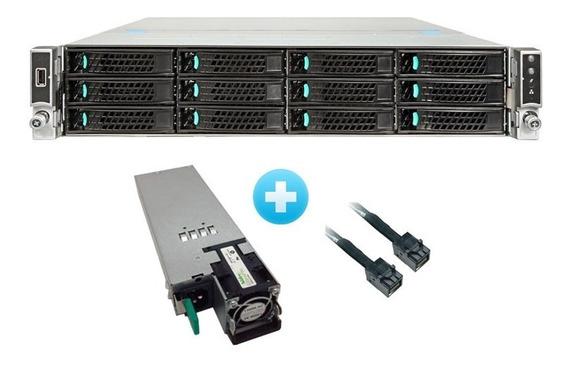 Servidor Storage Intel R2312wt 2x E5-2620 V3 128gb Ram 4tb