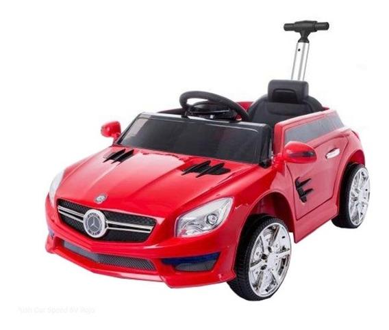 Auto Batería Eléctrico Mercedes Benz Barral Empuje Push Car