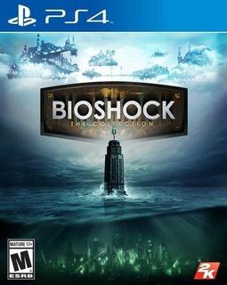 Bioshock The Collection Ps4 Nuevo Y Sellado (3 Juegos) Ya