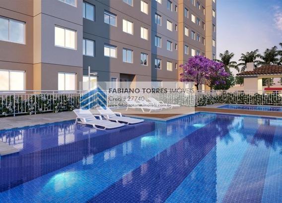 Apartamento Para Venda Em São Paulo, Itaquera, 2 Dormitórios, 1 Banheiro - Plano Jacu Pessego