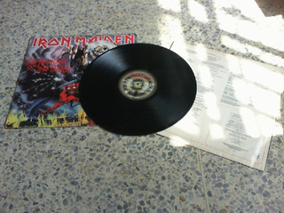 Vinil Lp Iron Maiden. The Number Of The Beast. Importado