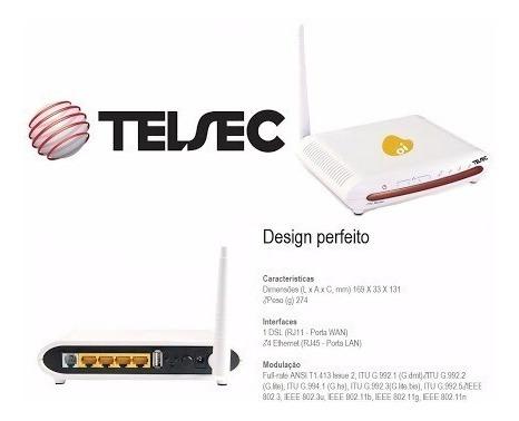Modem Adsl + Roteador Wifi Desbloqueado Qualquer Operadora