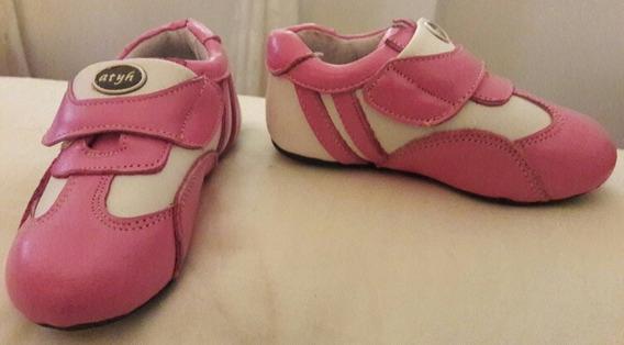 Zapatillas De Nena Importadas. Forever 21. Rosas.