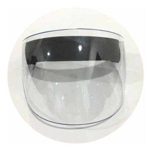 Careta Protección Facial Bioseguridad Abatible Policarbonato