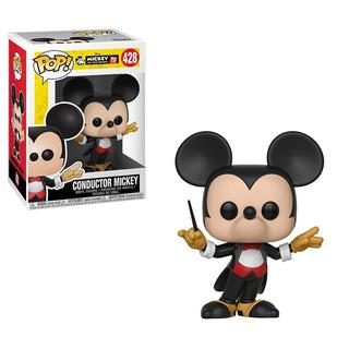 Funko Pop Conductor Mickey 428 Muñeco Original