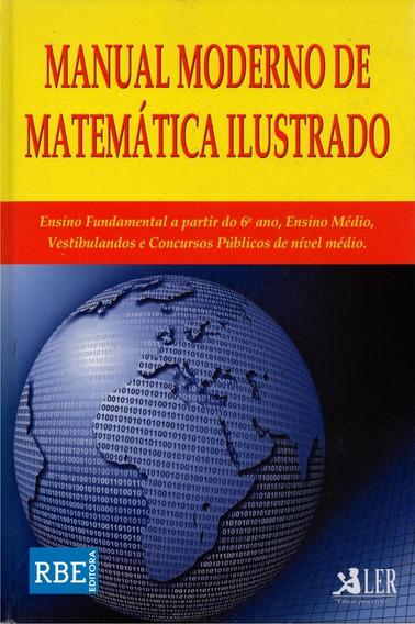 Livro - Manual Moderno De Matemática Ilustrado