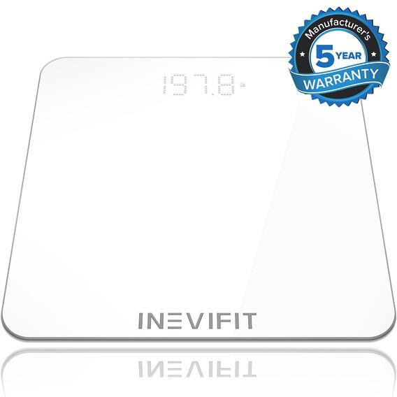 Inevifit Báscula De Baño Blanco