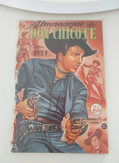Almanaque Do Don Chicote 1957 (frete Gratis)