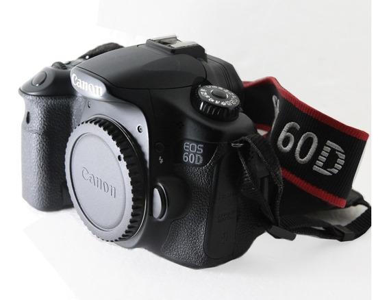 Canon 60d Só Corpo 1 Cartão De 4g + Bateria+carregador
