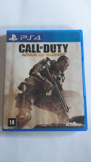 Call Of Duty Advanced Warfare (mídia Fisica) - Ps4