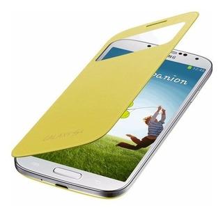 Capa Protetora S View Original Samsung Galaxy S4 Amarela
