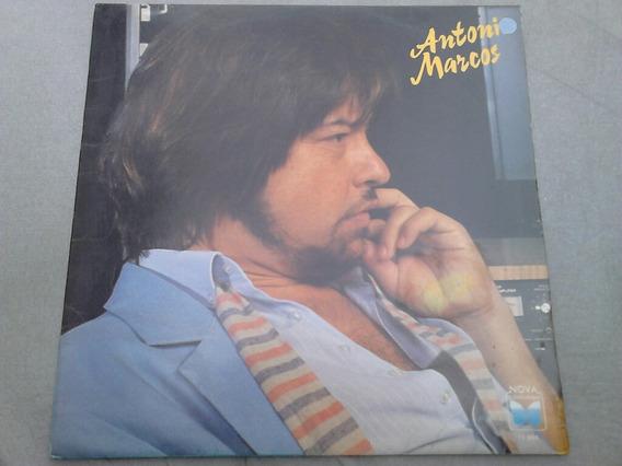 Lp Disco Vinil Antonio Marcos - Arrependimento 1987