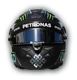 Cascos Grandes Premios Nico Rosberg 2016 Spark 1/5