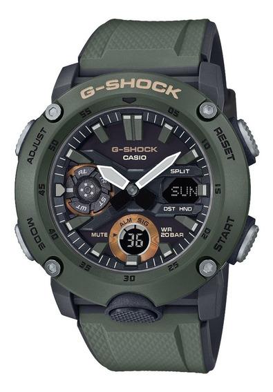 Relógio Casio G-shock Ga-2000-3adr Original Garantia 2 Anos!