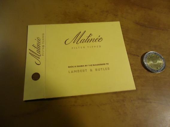 Caja Vacia De Cigarrillos Mtinée N 1