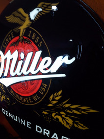 Luminoso Cerveja Miller Nneon Led Bar Buteco Churrasqueira