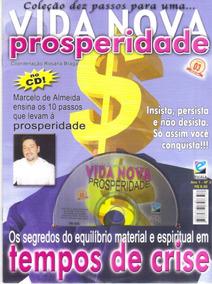Revista Com Cd Vida Nova Prosperidade 10 Passos - Dinheiro