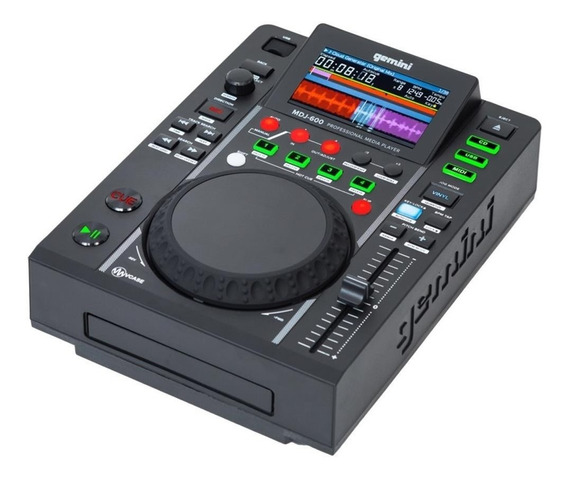 Cd Player Cdj Gemini Mdj-600