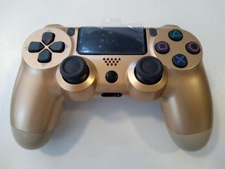 Controle Dualshock 4 Gold - Sem Fio Ps4 Dourado