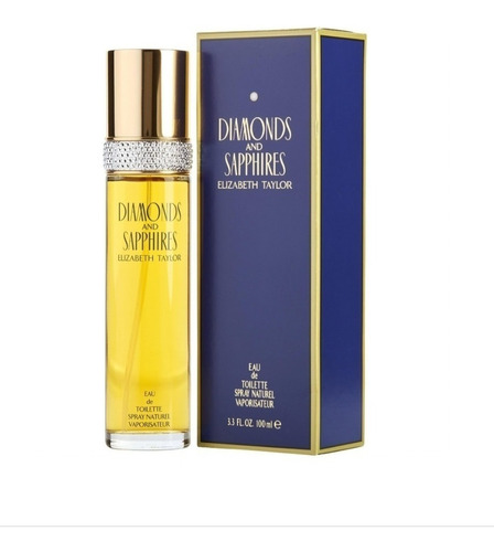 Perfume Elizabeth Taylor Diamantes Y Zaf - L a $808
