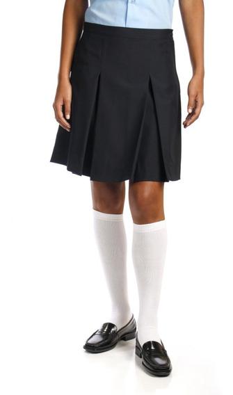 Faldas Escolares Niñas Jeyra Dos Tachones