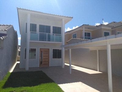 Sobrado Com 3 Dormitórios À Venda, 150 M² Por R$ 550 - Barroco (itaipuaçu) - Maricá/rj - So0025