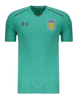 Camisa Under Armour Aston Villa Treino 2018 Verde