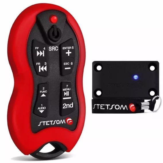 Controle Longa Distância Stetsom Sx2 16funções 500m Vermelho