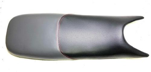 Imagen 1 de 8 de Asiento Negro-gris Con Costura Roja Zanella Rx 150 G3 Ghost