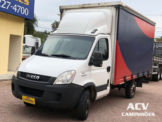 Iveco Daily 35s14 2014 Baú Sider 4,60 Mts