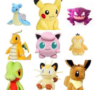 Peluche Pokémon Pikachu Mew Eeve Togepi Anime