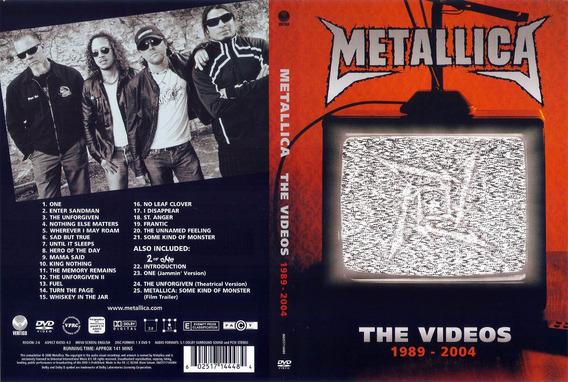 Metallica - The Videos 1989 - 2004 - Dvd - U