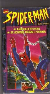 Fita Filme Vhs Dublado Spider Man Marvel