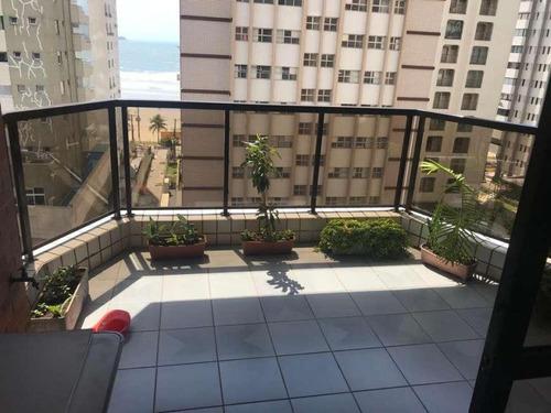 Apartamento Com 4 Dormitórios À Venda, 190 M² Por R$ 800.000 - Vila Alzira - Guarujá/sp - 13394