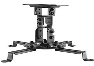 Soporte Para Proyector A Techo, 15cm. 13.5kg. Negro.factura/