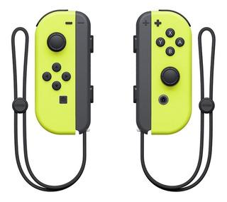 Control joystick Nintendo Joy-Con amarillo neón
